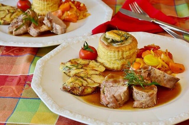 Image de plats cuisinés et savoureux